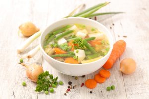 zeleninová polievka recept