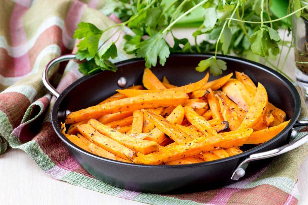 pečené batáty sladké zemiaky recept