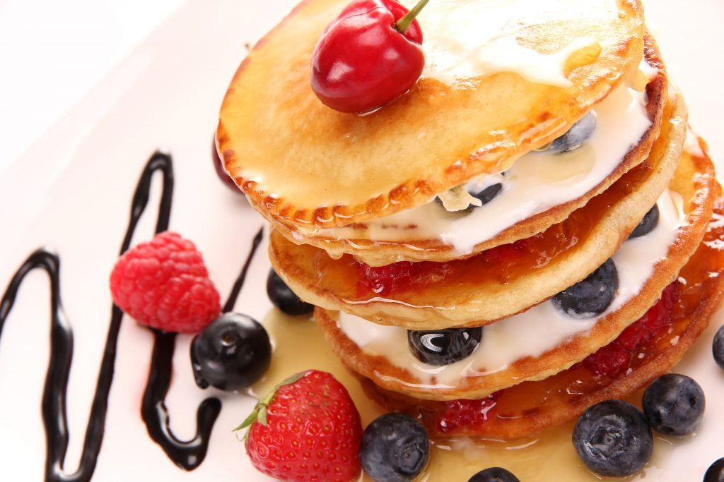 zdravé špaldové jogurtové lievance recept