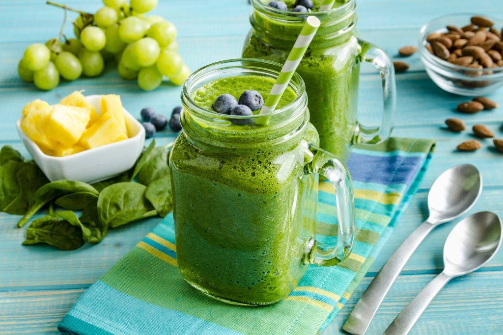 spenatove smoothie