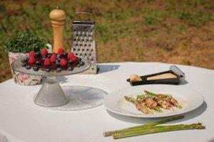 špargľa raw torta recept varenie vonku