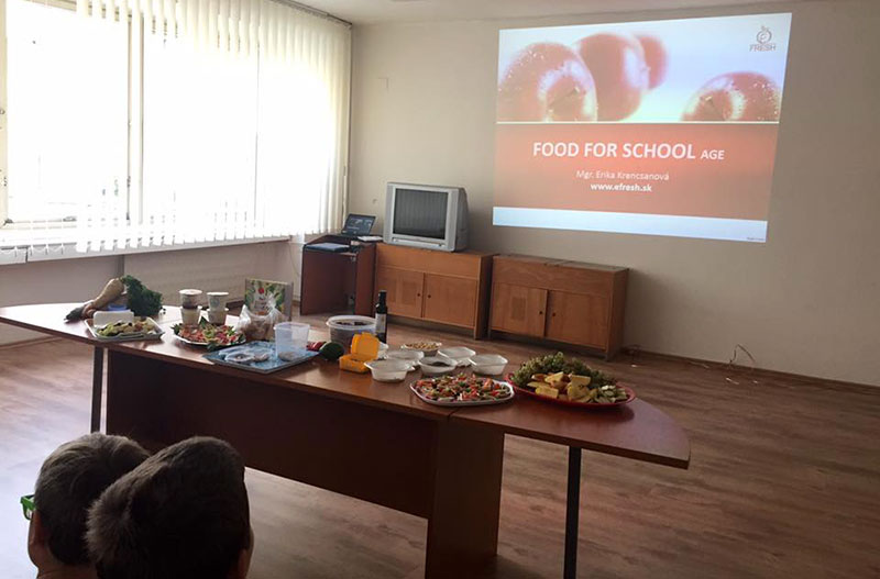 Prednáška Food for school