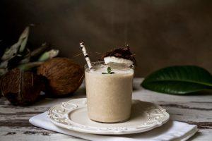 bananove smoothie s kokosovym mliekom