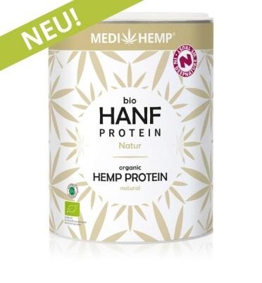 Bio konopný proteín